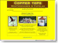 Coppertops Weathervanes & Cupolas Conway, NH