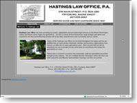 Hastings Law Offices Fryeburg, Maine